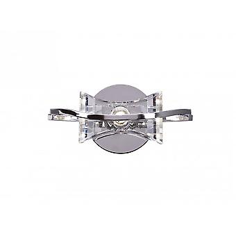 Mantra Kromo Wall Lamp Switched 1 Light G9, Polished Chrome