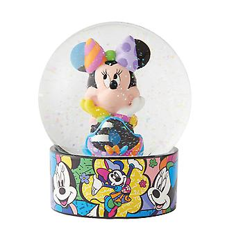 Britto Disney Minnie Mouse Water Globe