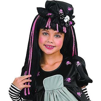 Rubie parykk svart Dolly (babyer og barn, kostymer)