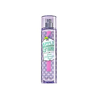 Bath & Body Works Apple Blossom & Lavender Fine Fragrance Mist 8 fl oz  / 236 ml (Pack of 2)