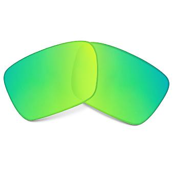 Replacement Lenses for Oakley Fuel Cell Sunglasses Green Mirror Anti-Scratch Anti-Glare UV400 by SeekOptics