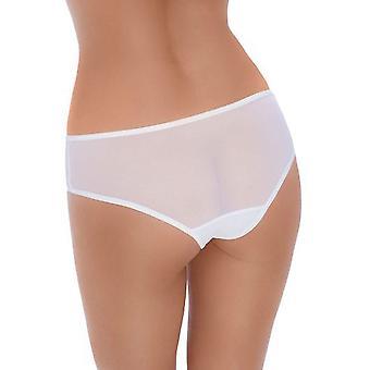 Roza Women's Amaranta White Knickers Panty Full Brief