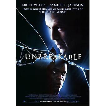 Unbreakable (Reprint) nytryck affisch