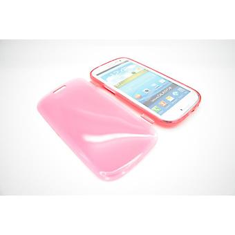 Samsung Galaxy S3 silicone cover case red