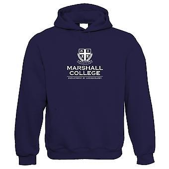 Marshall College Indiana Jones film geïnspireerd hoodie | Fancy Dress film prop outfit karakter cos spelen | TV & film gift hem haar verjaardag