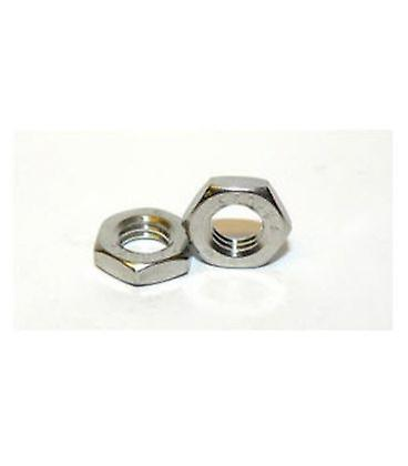 M6 A4 Stainless Steel Half Nut Din439