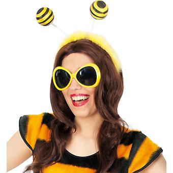 Headband bee yellow black accessory bee insect bug accessories
