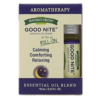 Nature's truth good nite essential oil blend roll-on, 0.33 oz