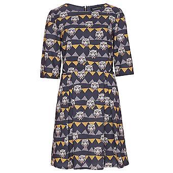 Sugarhill Boutique Grey Tiger Dress