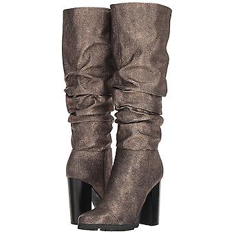 Katy Perry Women's The Oneil Knee High Boot, Bronze, 6.5 M M US