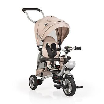 Tricycle Byox Rooster F1 tricycle, hélice, pneu en caoutchouc, barre de direction, pliable