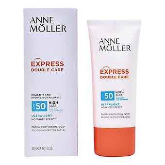 Sun Screen Lotion Express kaksinkertainen hoito Anne M Ller SPF 50 (50 ml)