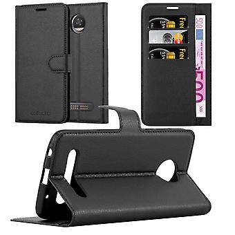 Cadorabo Case for Motorola MOTO Z2 Case Cover - Phone Case with Magnetic Closure, Stand Function and Card Case Compartment – Case Cover Case Case Case Case Book Folding Style