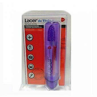 Lacer Lacer folding brush + travel paste 5 ml