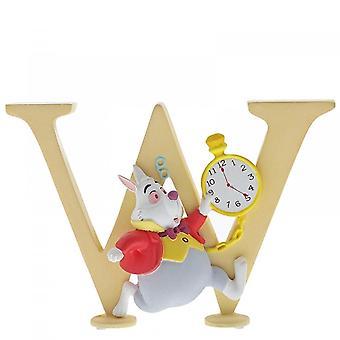 Disney Enchanting Collection Letter W - White Rabbit