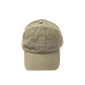 Trussardi Man Military Green Cap