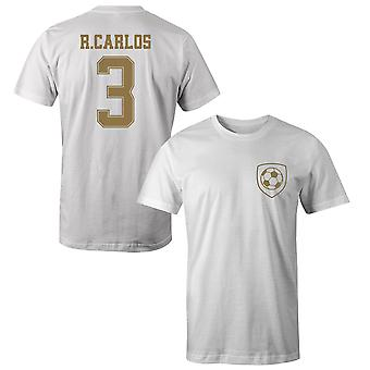 Roberto Carlos 3 Real Madrid Style Player Kids T-Shirt