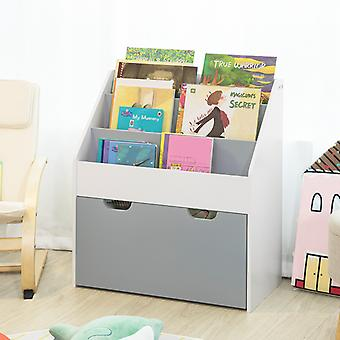 SoBuy Enfants Bookcase Bookcase Shelf Storage Display Display Holder Organisateur,KMB17-HG