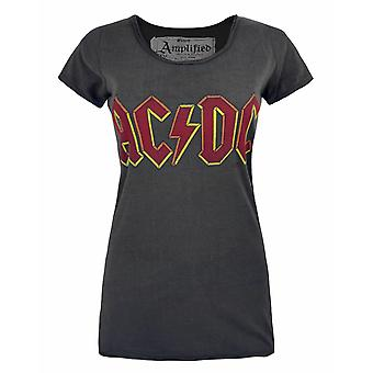 Amplified AC/DC Logo Women's T-Shirt