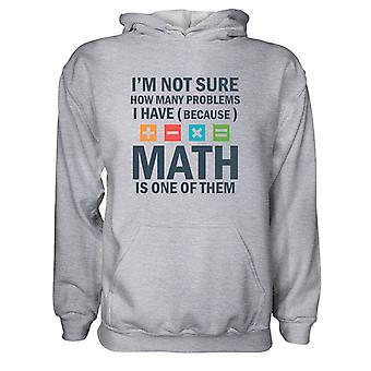 Herre Sweatshirts Hættetrøje- Math Problem