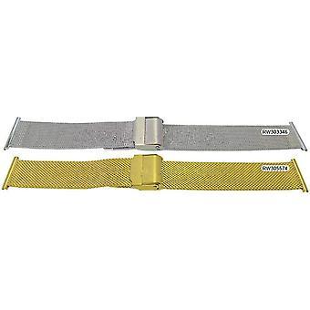 Rowi watch bracelet mesh bracelet file to fit centre opening 18mm-22mm