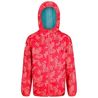 Regatta Coral Childrens Printed Lever Jacket