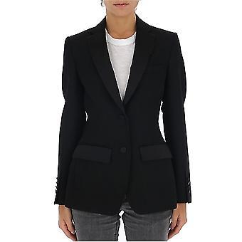 Burberry 8024278a1189 Women's Black Wool Blazer