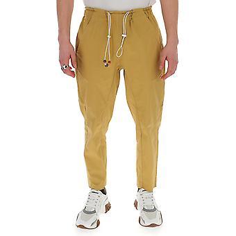 Corelate 266202623 Men's Beige Cotton Pants