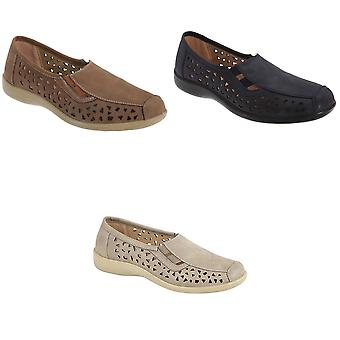 Boulevard Womens/Ladies Side Gusset Summer Casual Shoes