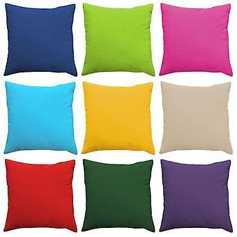 "Gardenista� | Premium Water Resistant Outdoor Foam Crumb Filled 18"" Garden Furniture Scatter Cushion (Turquoise)"