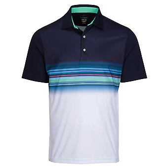 Greg Norman Mens Performance ML75 Surf Wicking Golf Polo Shirt