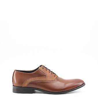 Tillverkad i Italia Original Män året Lace Up - Brun Färg 29159