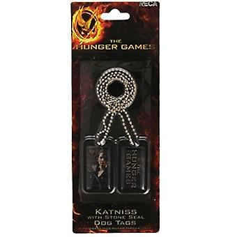 The Hunger Games Girl On Fire Dog Tags
