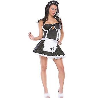 Women French Maid Sexy Costume