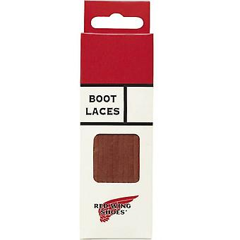 """Red Wing 80"""" (200 cm) Suede Boot Laces - Tan, Burgundy, Chestnut and Black-Burgundy"""