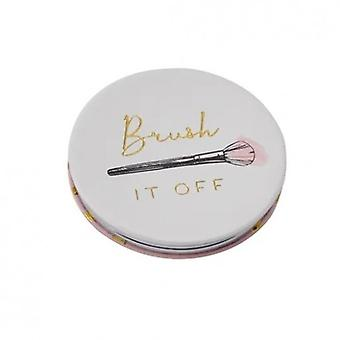 CGB Giftware Brush It Off Compact Mirror