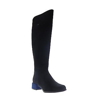 Camper Kobo  Womens Black Suede Zipper Casual Dress Boots