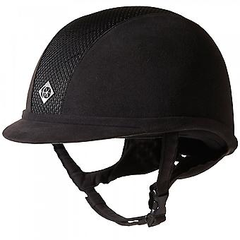 Charles Owen Ayr8 Plus Riding Hat - Black/black