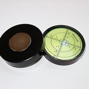Magnetische Metall große Geist Blase Ebene 60mm Durchmesser, grün/schwarz