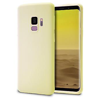 Shell pour Samsung Galaxy S9 Champagne (Jaune) TPU Protection Case