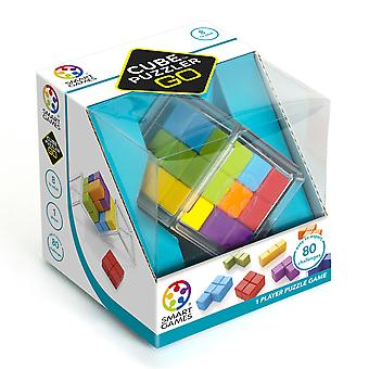 SmartGames Cube Puzzler GO 3D One Player Puzzle Game Brain Teaser 80 Challenges