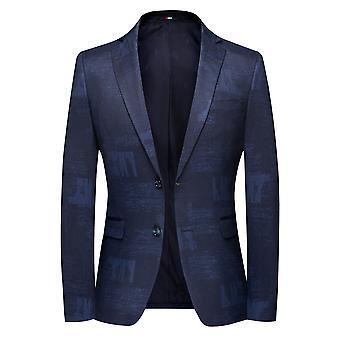 Allthemen Men's New Style Slim Fit Business Casual Suit Jacket Blazer