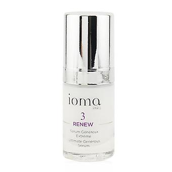IOMA Renew - Ultimate Generous Serum 15ml/0.5oz