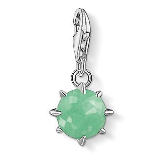Thomas Sabo Aventurine May Birthstone Charm