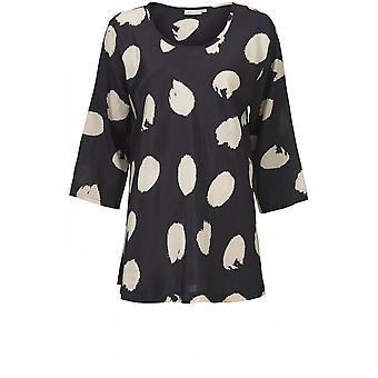 Masai Clothing Kia Bold Spot Print Top