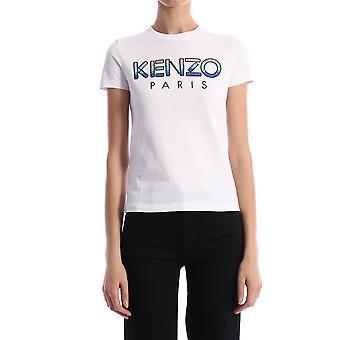 Kenzo Fa52ts82193601 Women's White Cotton T-shirt