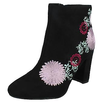 Ladies Dolcis Heeled Ankle Boots Felicity OLB790