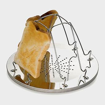 Új Hi-Gear összecsukható kenyérpirító (4 Slice) Természetes