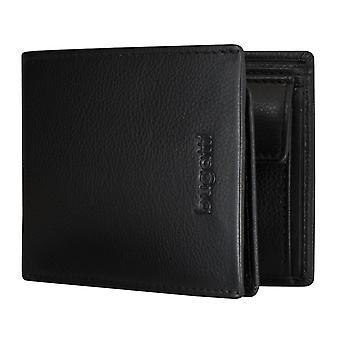 Bugatti Vértice men's apparent bag purse wallet purse black 5191