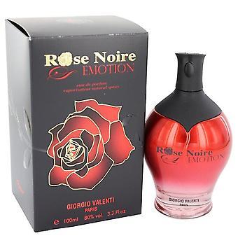 Rose Noire Emotion Eau De Parfum Spray By Giorgio Valenti 3.3 oz Eau De Parfum Spray
